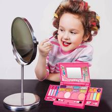 Girls Makeup Box Set Toy Simulation Dressing Table Performances Dressing Makeup Toy Party Box Set Gifts for Girls Cosmetics Kit