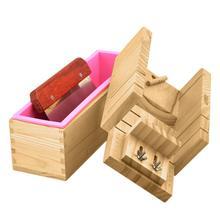 Новые 3 шт./Набор DIY мыло ручной работы Инструменты Ремонт машина дерево силиконовые формы резак удобно и быстро подходит для дома