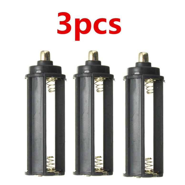3 шт. 3 AAA Батарейный держатель батарейный отсек стойка отсек Фонарик Аксессуары для батарей|Велосипедная фара|   | АлиЭкспресс
