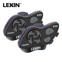 LEXIN LX-FT4 2 шт 1-4 Rider мотоцикл Bluetooth шлем гарнитура домофон с fm-радио для мотоцикла/внедорожника/снегохода