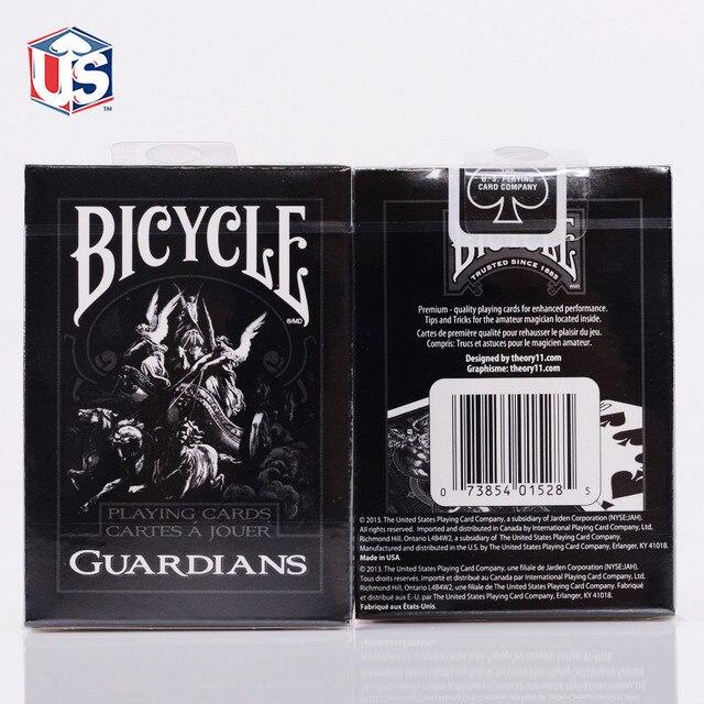1 палубная теория11 велосипедные карты стражи велосипедные игральные карты обычные велосипедные палубные всадники задние карты магический ...