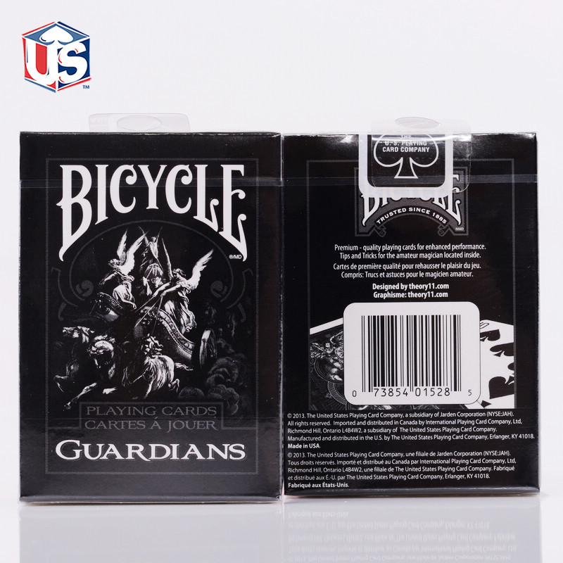 1 Deck Theory11 Bicycle Cards Guardians Bicycle Playing Cards Regular Bicycle Deck Rider Back Card Magic Trick Magic Props