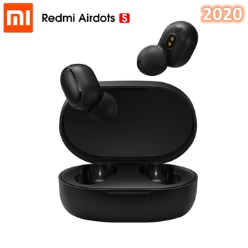 2020 New Xiaomi Redmi AirDots S TWS 5.0 Wireless Earphone Left Right Low Lag Mode Bluetooth Headset Auto Link Handsfree Earbuds