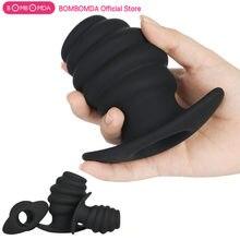 Vida Anal dilatör Hollow popo fiş silikon vajinal spekulum seks oyuncakları prostat masaj aleti anüs genişletici samimi ürünler Unisex
