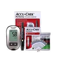 Accu Chek Performa Blood Glucose Meter Sugar Actieve Diabetic Tester Diabetes Glucosemeter Monitor Meting Test Strips