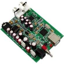 YJ0096 XMOS u8 + ak4490 placa de decodificador usb, para placas de amplificador