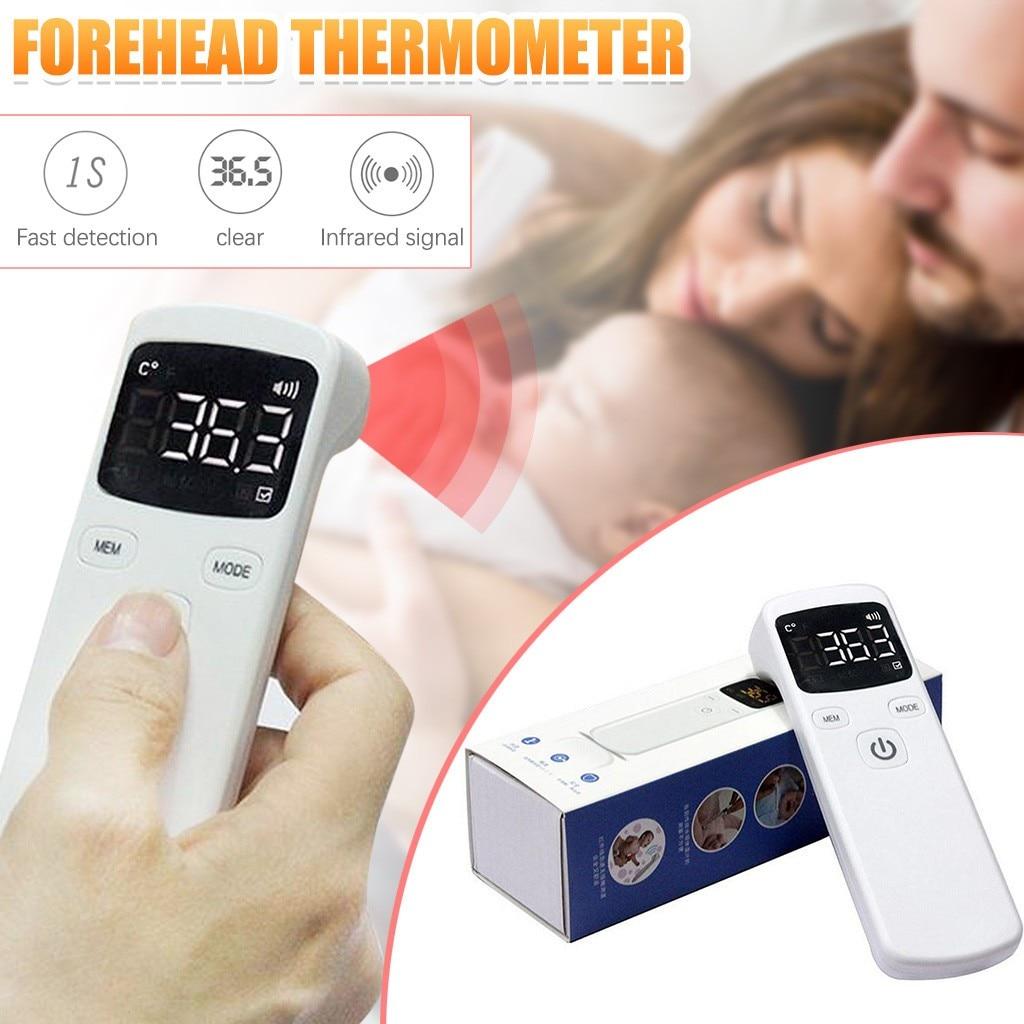 Бесконтактный инфракрасный термометр для детей и взрослых, инфракрасный температурный измеритель, Цифровой температурный пистолет, ЖК дисплей, термометр # L40| |   | АлиЭкспресс