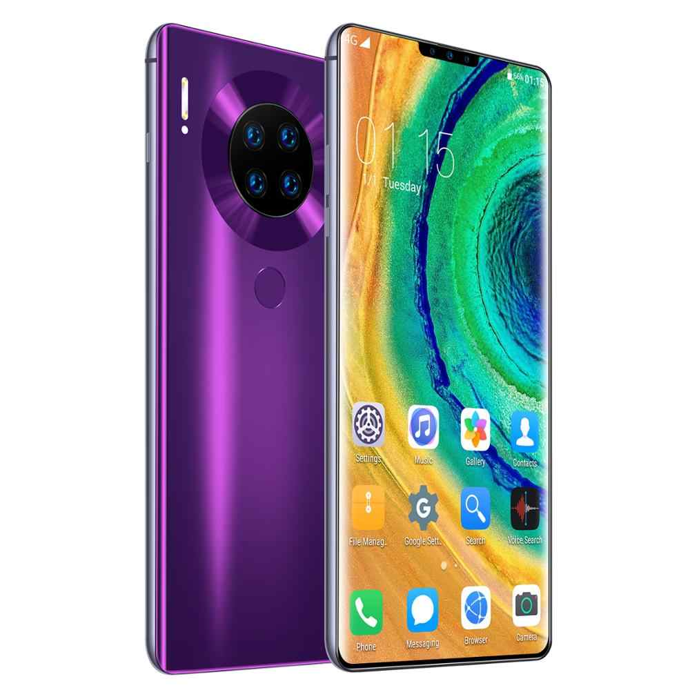 Version mondiale téléphones Android d'origine Smartphone 6.6 pouces téléphone portable double SIM caméra 3G 4G portable téléphone intelligent visage déverrouillage