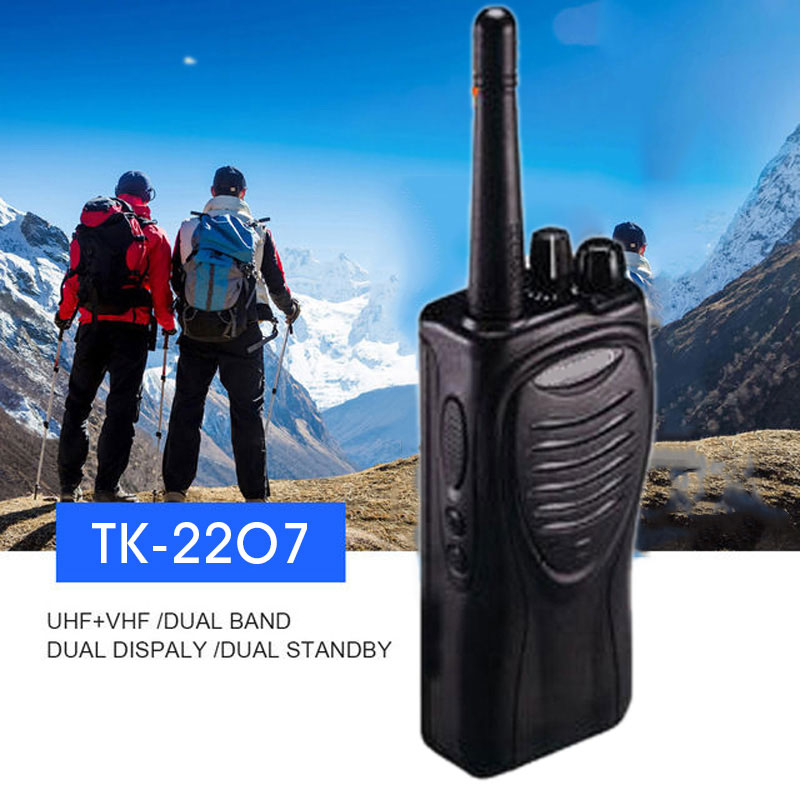 Walkie Talkie радио Interphone 16CH VHF Kenwood TK-2207 2-Way Comunication гаджет хобби