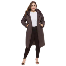 Long section Winter coat thickened parkas women slim Medium and long section parkas winter coat down cotton ladies down parka цены онлайн
