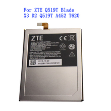 Original New Tested 4000mAh E169-515978 515978 For ZTE Q519T Blade X3 Blade D2 Blade A452 T620 T-620 Battery original 235w geekvape blade tc kit w blade mod