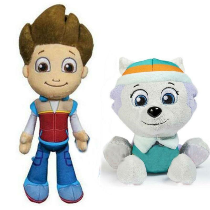 Paw Patrol-jouets en peluche, 20cm, Everest Tracker apollo ryder, modèle 100%, jouet cadeau d'anniversaire pour enfants, nouveauté 2020