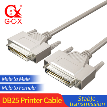 DB25 Parallel Cable Male to Male Female For Laser Printer DB 25 Pin Converter Extension Cable 1.5M 3M 5M 10M hot bi directional parallel interface communication usb to 25 pin db25 parallel printer cable adapter cord converter