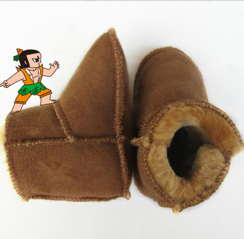 Детская обувь 13 цветов, зимние сапоги для девочек, детские австралийские водонепроницаемые сапоги из овчины, детские зимние теплые сапоги с...