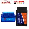 Автомобильный диагностический инструмент мини ELM327 WIFI Bluetooth считыватель кодов OBD2 V1.5 сканер Супер Мини elm 327 Автомобильный диагностический ин...