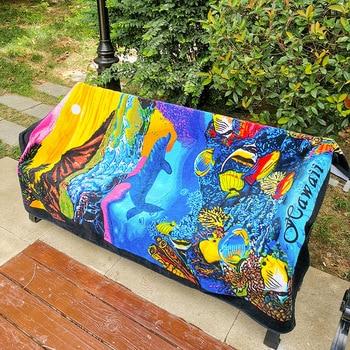 New Zealand island Style Cotton Beach Towel, Big Size Bath Towel,Water Absorption Beach towels, Bathroom Travel Towels 180x105cm 5