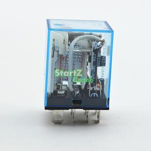 Image 2 - 10Pcs ממסר LY2NJ 220/240V AC קטן ממסר 10A 8PIN סליל DPDT