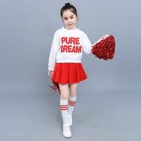 Children's Cheerleading Clothing Jazz School Girl Skirt Sailor Uniform School Girl Uniform Cheerleadeer Uniform