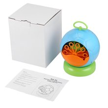 Portable Automatic Bubble Machine Bubble Blowing Soap Bubbles for Outdoor or Indoor Party Bubbles Maker Toy Gift Kids Fun недорого