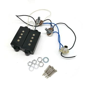 Pickup gitara elektryczna wiązki przewodów PB gitara basowa 4-String gryf gitary elektrycznej i most przetworniki zestaw tanie i dobre opinie ADDFOO NONE CN (pochodzenie)