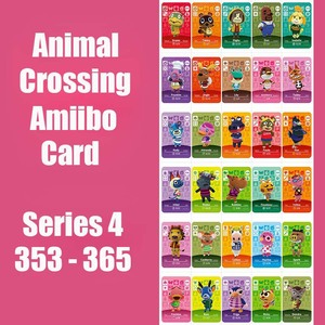 Series 4 (353 to 365) Animal Crossing Card Amiibo Cards locks nfc 3DS Card Work for Switch NS Games Animal Crossing Card(China)
