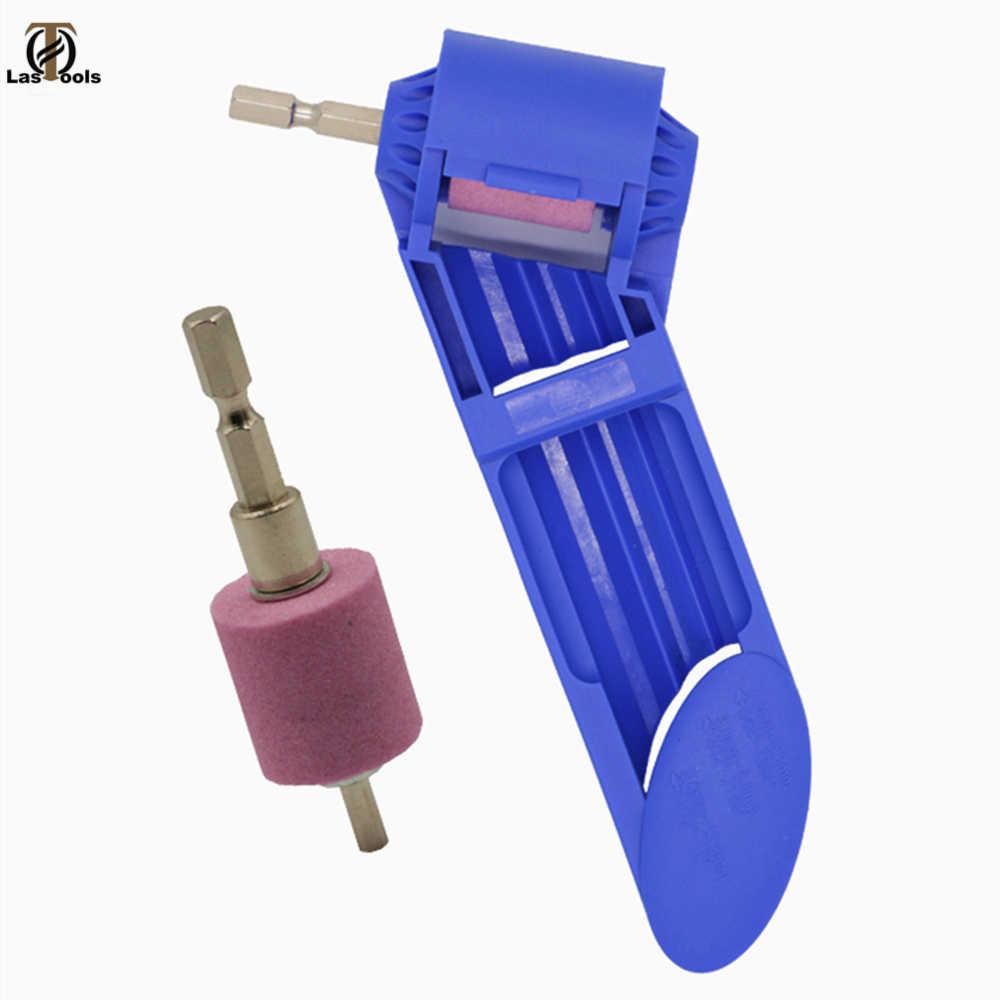 Portable Drill Bit Sharpener Corundum Grinding Wheel for Grin IY/_ft