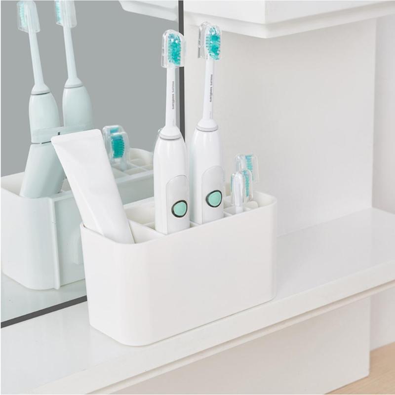Detachable Toothbrush Holder Bathroom Electric Toothbrush Dispenser Shelf