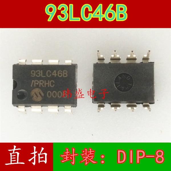 5PCS PIC93LC46B-I//P 93LC46B-I//P 93LC46B DIP8 IC
