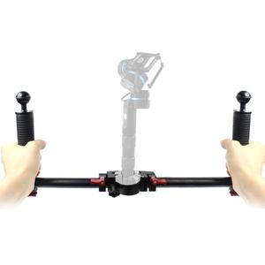 Image 2 - Dual Handheld Camera Photography Gimbal Portable Kit for DJI Ronin s for Zhiyun Crane2 Pro Stabilizer DSLR SLR Hold Grip Handles