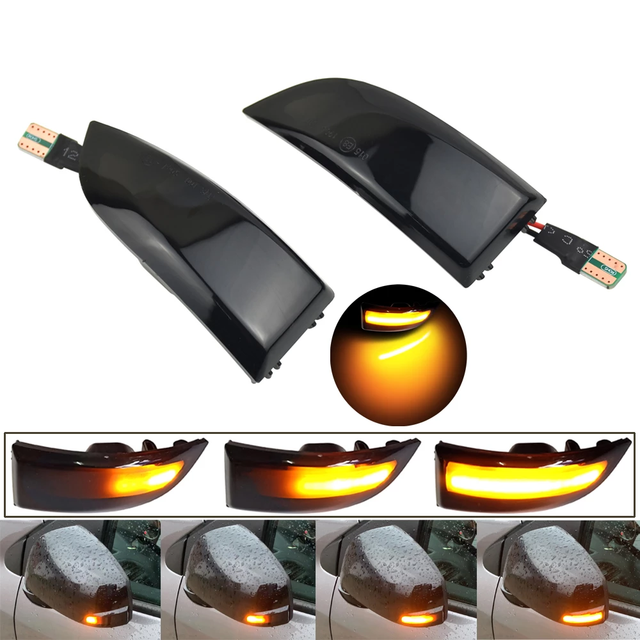 Repeater Indicator Dynamic LED Turn Signal Light For Renault Grand Scenic III Megane MK3 Fluence 2009 Latitude Safrane 2010 2015