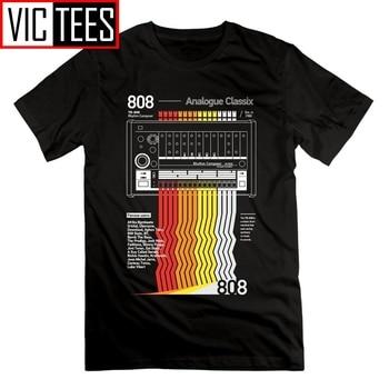 808 Classix Vaporwave T Shirt Short Sleeves Round Collar Men Tops Tees Clothing New Arrival 100% Cotton T-Shirt