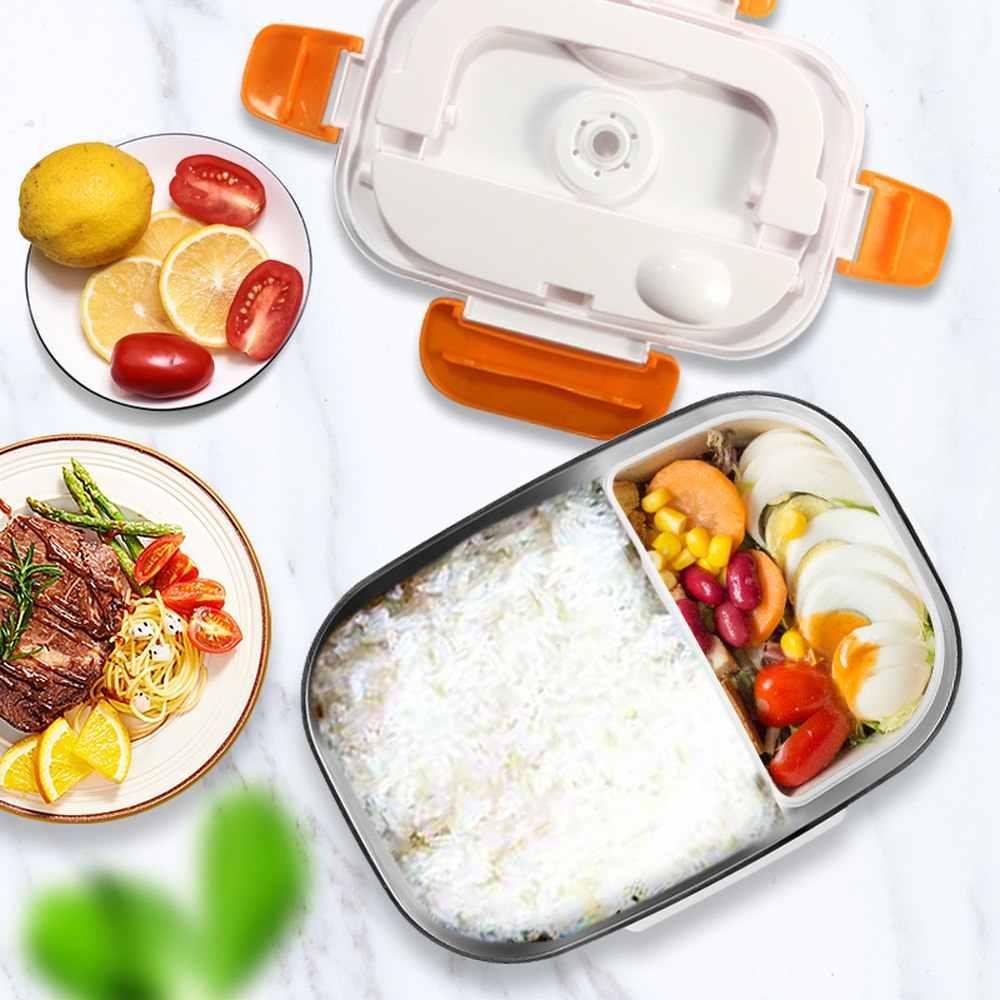 170*108*233mm Auto Elektro Lunch-Box 12 V/110 V/220 V PTC Heizung element Mini Lunch-Box-Sets Isolierte Lebensmittel Container Lunchbox