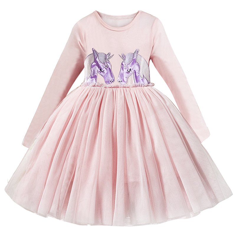 Hbcdea4ed087f4d31b7124ade705ccca2L Spring Autumn Long Sleeves Children Girl Clothes Casual School Dress for Girls mini Tutu Dress Kids Girl Party Wear Clothing