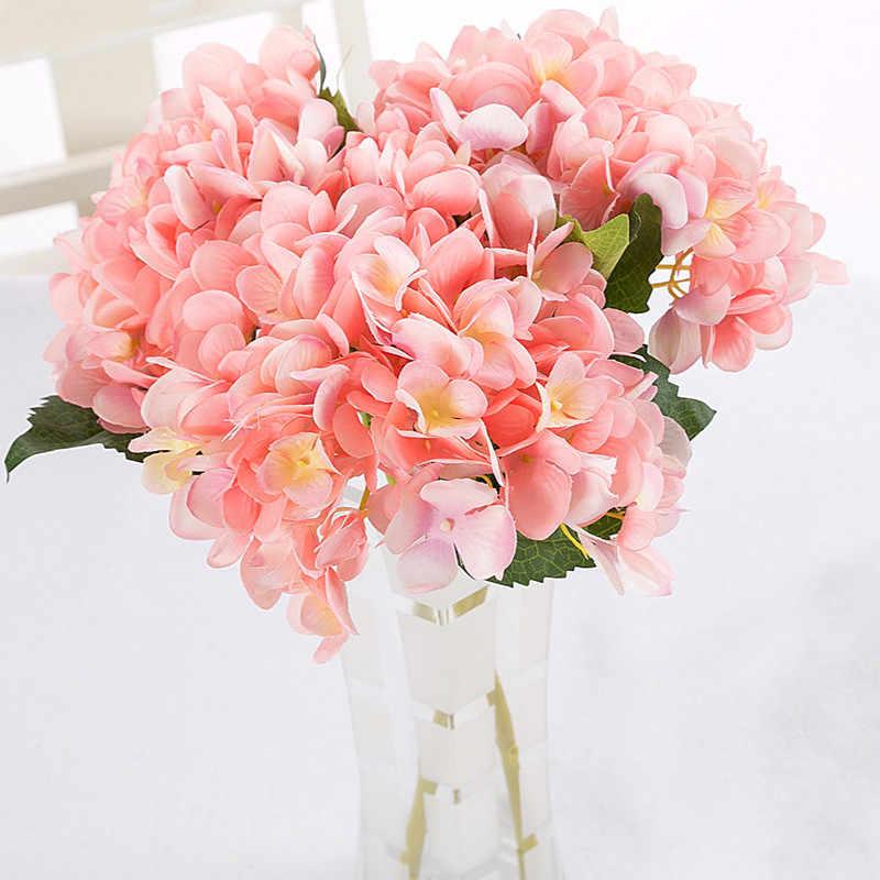7 Colors Hydrangea Silk Artificial Flower Arrangement Floral Bouquet 1pc Silk Flower For Diy Home Wedding Party Decoration Silk Flowers Flowers Forsilk Artificial Flowers Aliexpress