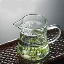 Термостойкий стеклянный чайник Hejian стеклянный чайный набор кувшин Полумесяца клюв чашка для зеленого чая кувшин для чая оптом