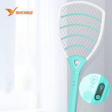 Electric fly mosquito racket electric mug killer swatter rechargeable usb mosquitoes bug trap