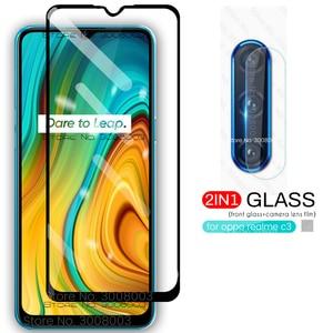 realmi c3 glass camera lens protective glass for oppo realme c3 realmy c 3 3c safty glass realmec3 6.5'' smartphone film cover