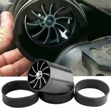 75 мм/2,95 дюймов Автомобильный турбонатор для забора воздуха с 3 силиконовыми рукавами разного отверстия Универсальный Турбо Нагнетатель