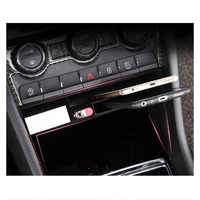 Lsrtw2017 for Skoda Kodiaq Karoq Gt Car Central Control Storage Trims Abs Interior Mouldings Accessories