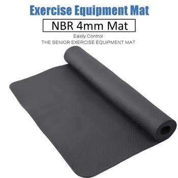 Exercise Mat Gym Fitness Equipment For Treadmill Bike Protect Floor Mat Running Machine Shock Absorbing