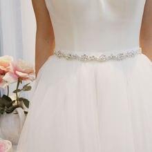 Свадебные аксессуары slbridal свадебный пояс с жемчугом атласный