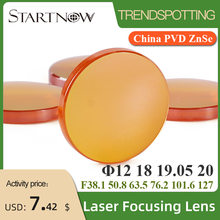 Startnow Focus Lens Laser 20 19 18 15 12 Mm Fl 50.8 - 127 Mm Voor CO2 Lasersnijden Carving machine China Znse Pvd Laser Lenzen