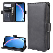 DUSH Leather Flip For iPhone 11/11pro/X/XR/XS Max Phone Magnet Cover Case Wallet Case For iPhone 7 Card Pocket(China)