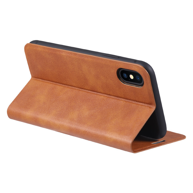 Leather etui for iphone 6 6s 7 8 plus 11 x xr flip wallet case for iphone 11 pro xs max card holder stand protection cover