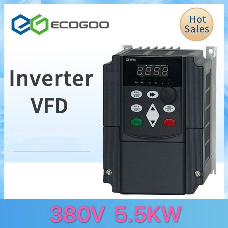 380V 1.5KW/2.2KW/4kw/5.5kw/7.5kw/11kw Mini VFD Variable Frequency Inverter for <font><b>Motor</b></font> Speed Control Converter image