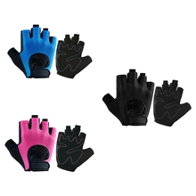 Riding Cycling Gloves Half Finger Bicycle Breathable Padded Outdoor Fishing Climbing Fitness Weightlifting Training Glove