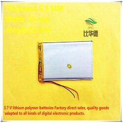 (Frete Grátis) bateria de polímero de Lítio 5800mah 3.7v 895693 Pode Ser Personalizado Por Atacado Ce Fcc Rohs Msds Certificação de Qualidade
