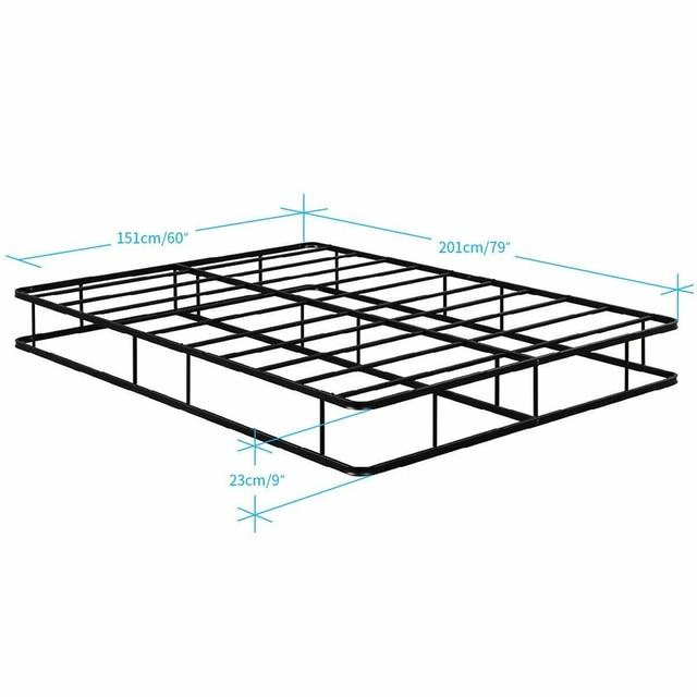 Queen Size Platform  Bed Frame  2