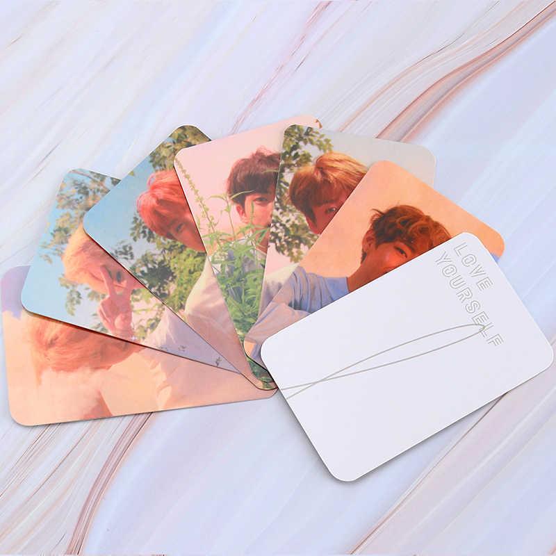 7 ~ 10 قطعة KPOP Bangtan بنين ورقة صور الكرز قنبلة نذهب حتى لومو بطاقة صور بطاقة بطاقة بريدية القرطاسية الديكور مورد مروحة هدية
