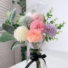 Искусственные цветы одуванчика искусственный букет одуванчиков